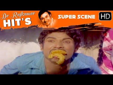 Dr.Rajkumar Movies - Manjula comes to meet dr.rajkumar | Sampathige Saval Kannada Movie