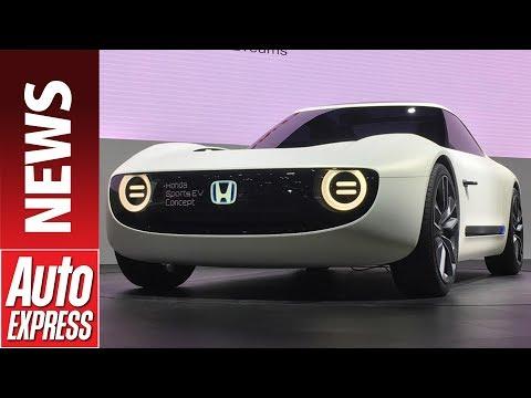Honda Sports EV concept follows Urban EV concept at Tokyo