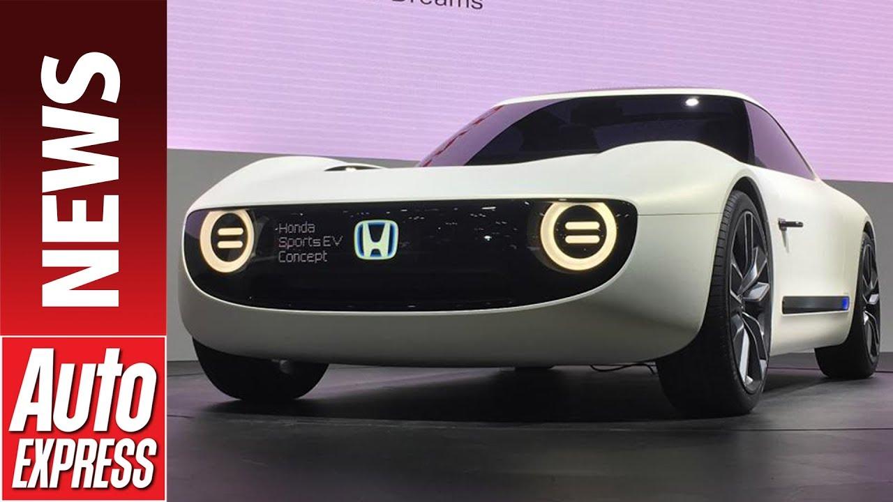 Honda Sports Ev Concept Follows Urban At Tokyo