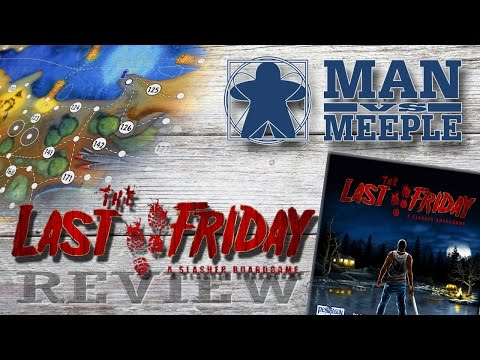 The Last Friday (Ares Games) Review by Man Vs Meeple