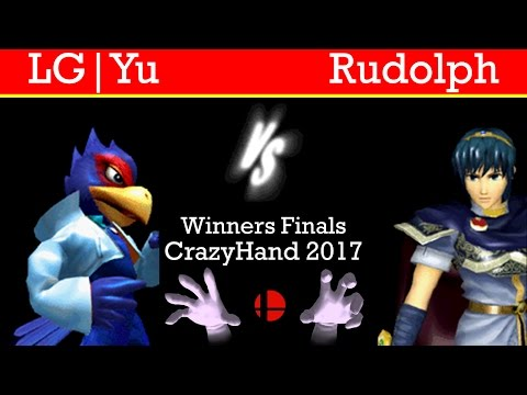 CrazyHand 2017 WF - LG|Yu(Falco) vs. Rudolph(Marth)
