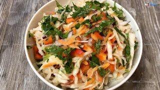 Салат из квашеной капусты вместо лекарств