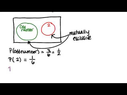 Mutually Exclusive Events Lesson Basic Probability And Statistics