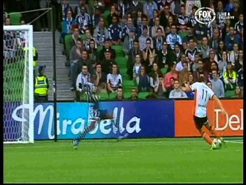 Liam Miller Goal Brisbane Roar Vs Melbourne Victory