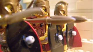 Lego 300: The First Battle(2494 years in the making. The first battle scene from the movie 300, featuring the Battle of Thermopylae. This video includes 20-frames-per-second fluid stop ..., 2014-01-18T19:44:16.000Z)