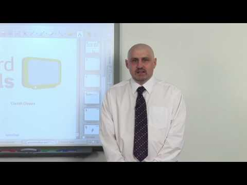 An Introduction to Interactive Whiteboards