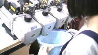 シリコン型製作 真空注型機 メンテナンス 司人形
