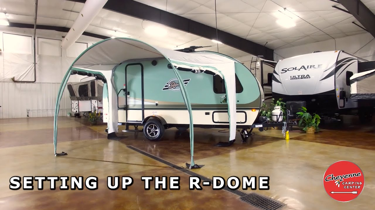 How Do I Set Up An R Dome On My R Pod Youtube