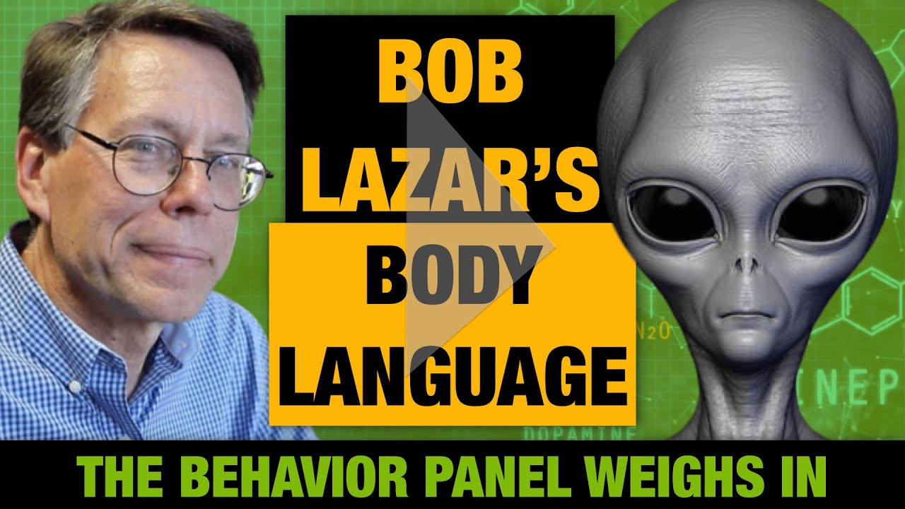Bob Lazar Body Language