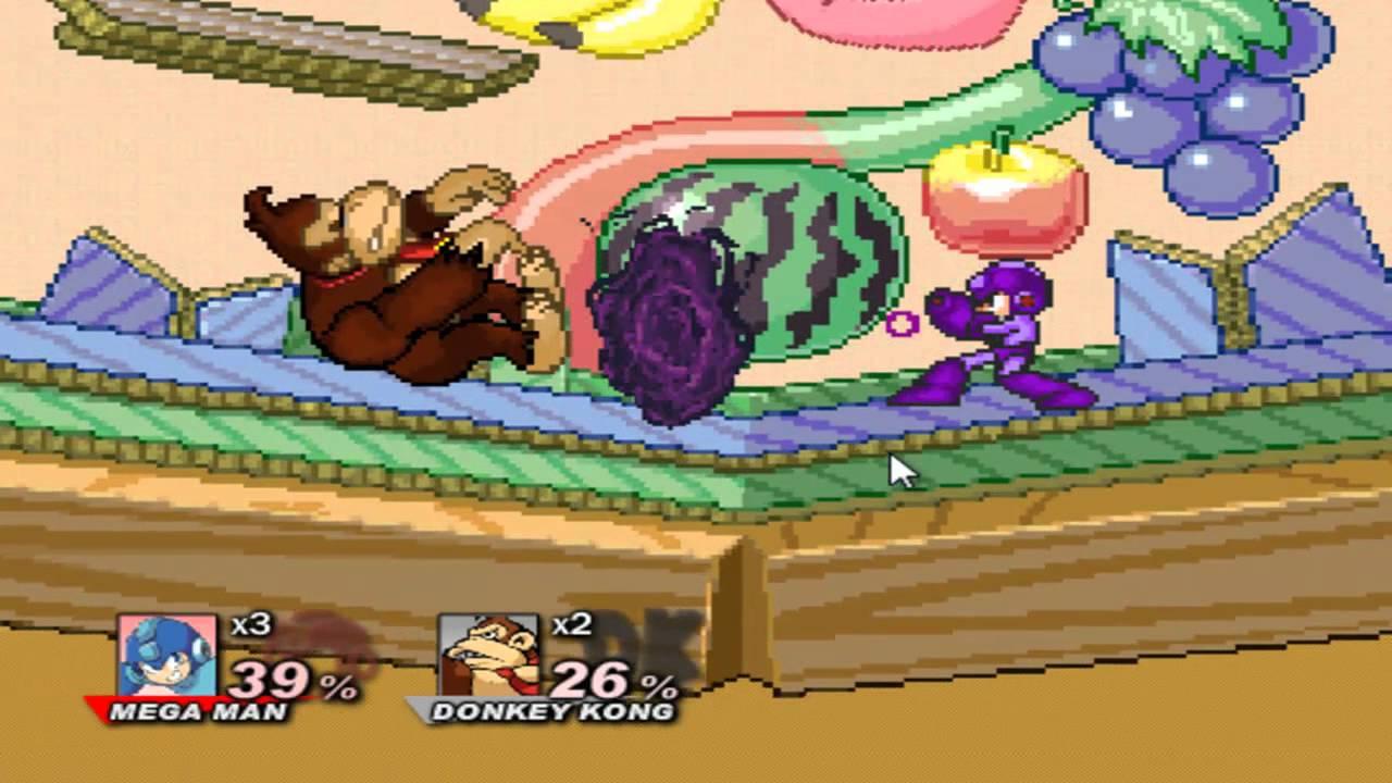Video - Super Smash Flash 2 Demo v0 8b Megaman vs All