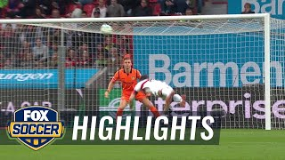 Bayer Leverkusen vs. VfB Stuttgart | 2017-18 Bundesliga Highlights