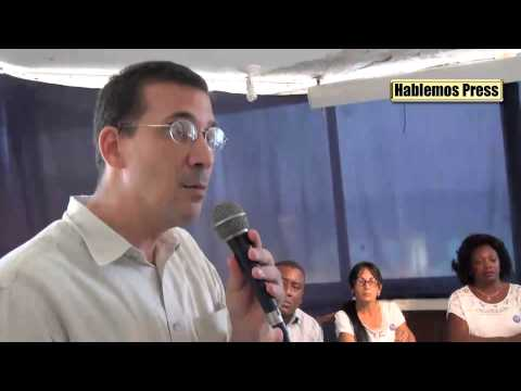 Hablemos Press: Opositores cubanos responde a pregunta del periodista Iván García