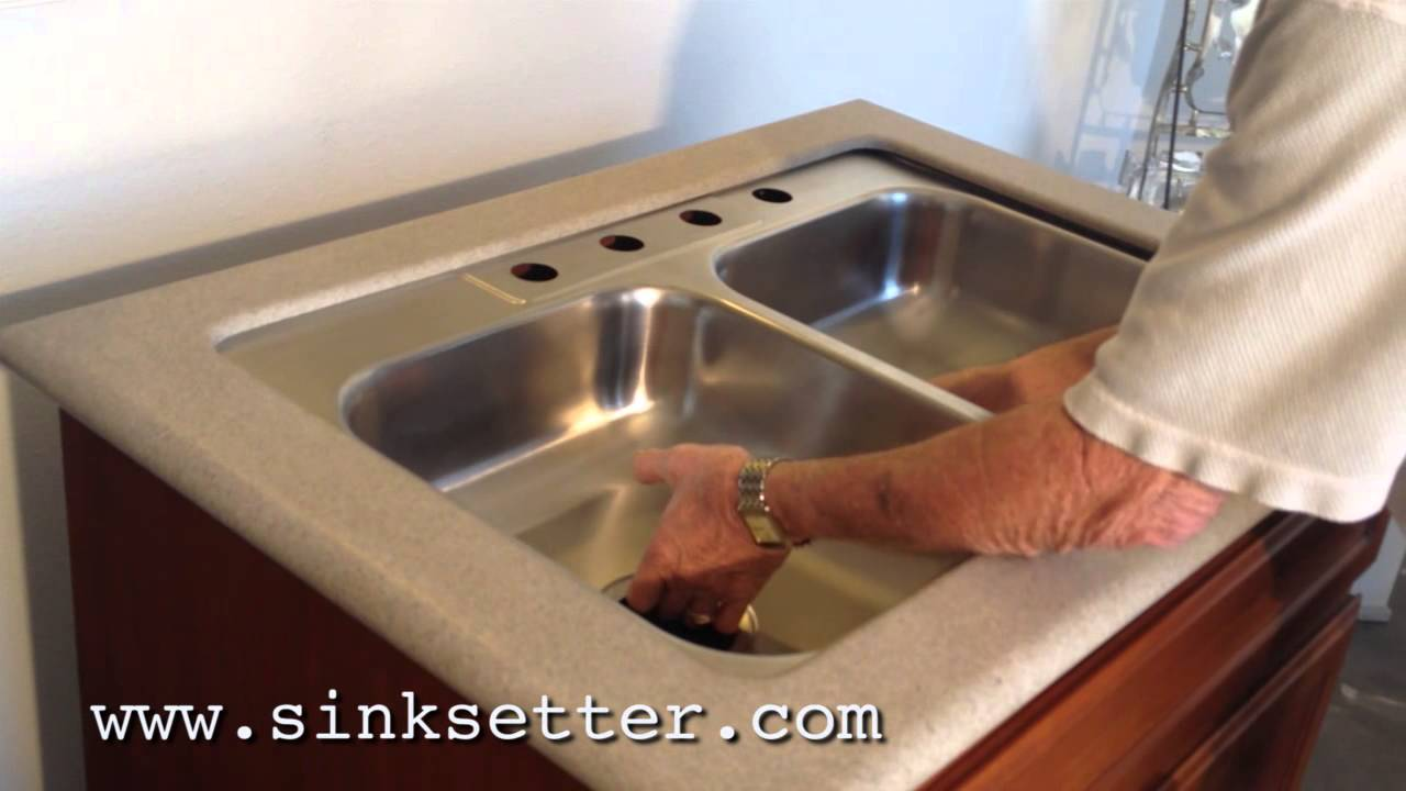replacing undermount kitchen sink how to repair an undermount sink 4768