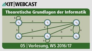 05: Theoretische Grundlagen der Informatik, Vorlesung, WS 2016/17