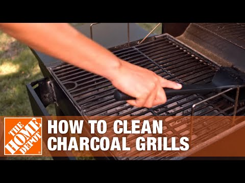 How to Clean a Charcoal Grill | The Home Depot