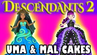 Uma and Mal Cakes Descendants 2. Totally TV
