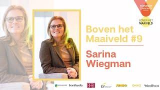 Boven het Maaiveld Podcast #9 met Sarina Wiegman