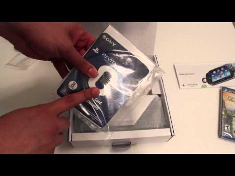PSVita Unboxing 3G/Wi-FI Bundle