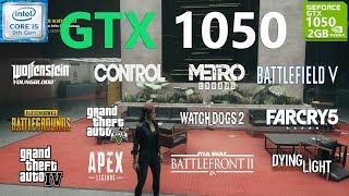 GTX 1050 Test in 20 Games