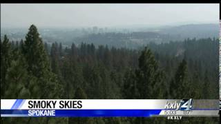 Air quality reaching unhealthy levels