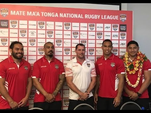 Mate Ma'a Tonga - National Rugby League Press Conference