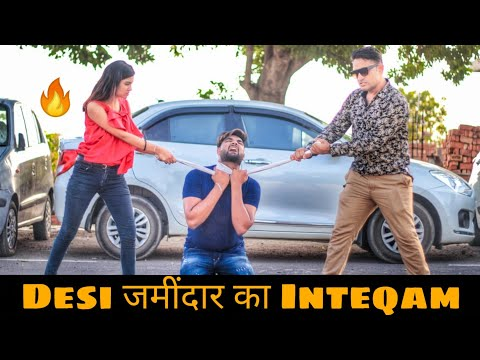 Desi Jamidar Ka Inteqam | Desi On Top | गरीब Vs अमीर | Likee | Himanshu Darolia feat. Pardeep Khera