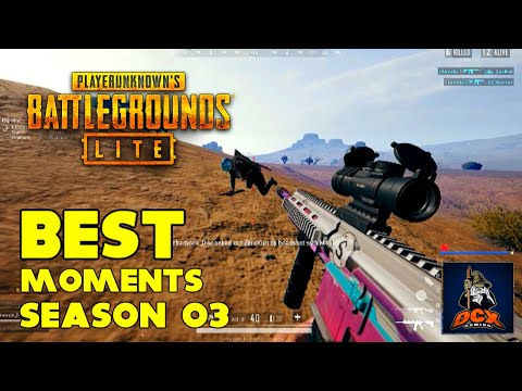 PUBG PC LITE - BEST MOMENTS - Season 03 (Highlights)