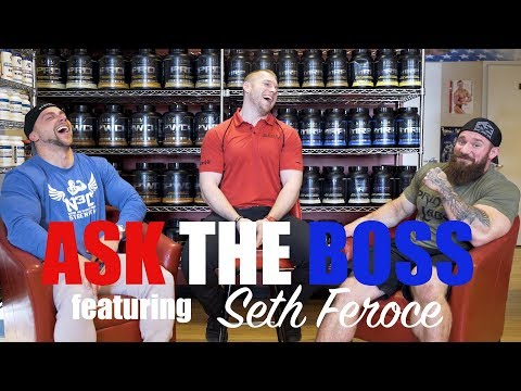 Ask The Boss Celebrity Edition - Doug Miller Sits Down With The Beast Seth Feroce!