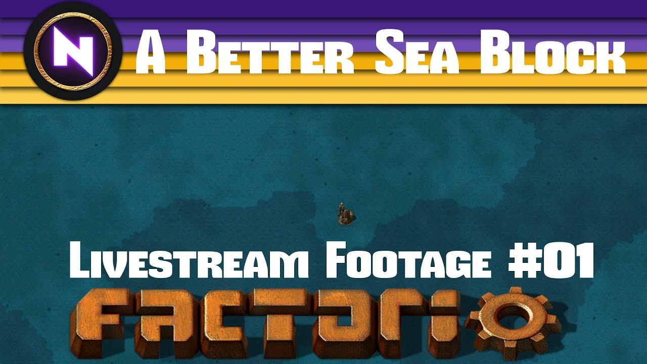 Factorio S21 - A Better Sea Block - Nilaus TV - Confluence