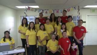[祝賀師尊73歲仙壽影片] 美國 - 南加州弟子們