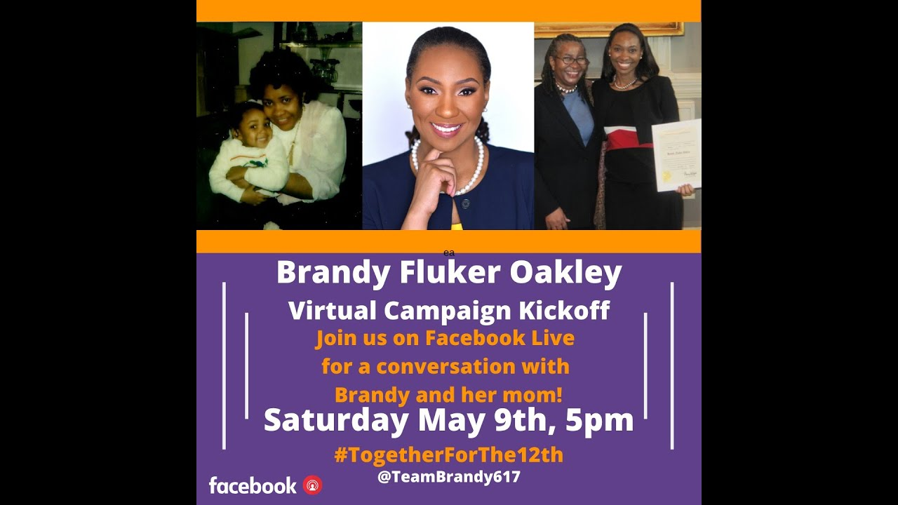 Video: Virtual Campaign Kickoff for Brandy Fluker Oakley