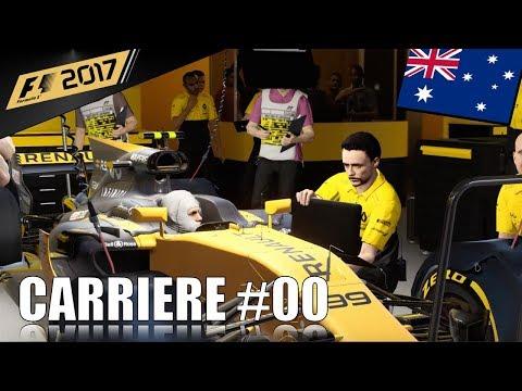 Une deuxième année qui commence - Carrière F1 2017 #00 (PS4)