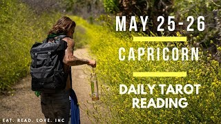 "CAPRICORN - ""THE TABLES HAVE TURNED"" MAY 25-26 DAILY TAROT READING"