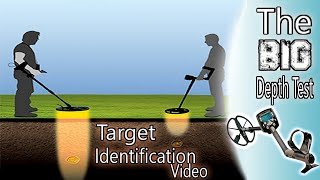 minelab Safari - The ''BIG'' Depth Test & Target Identification Video