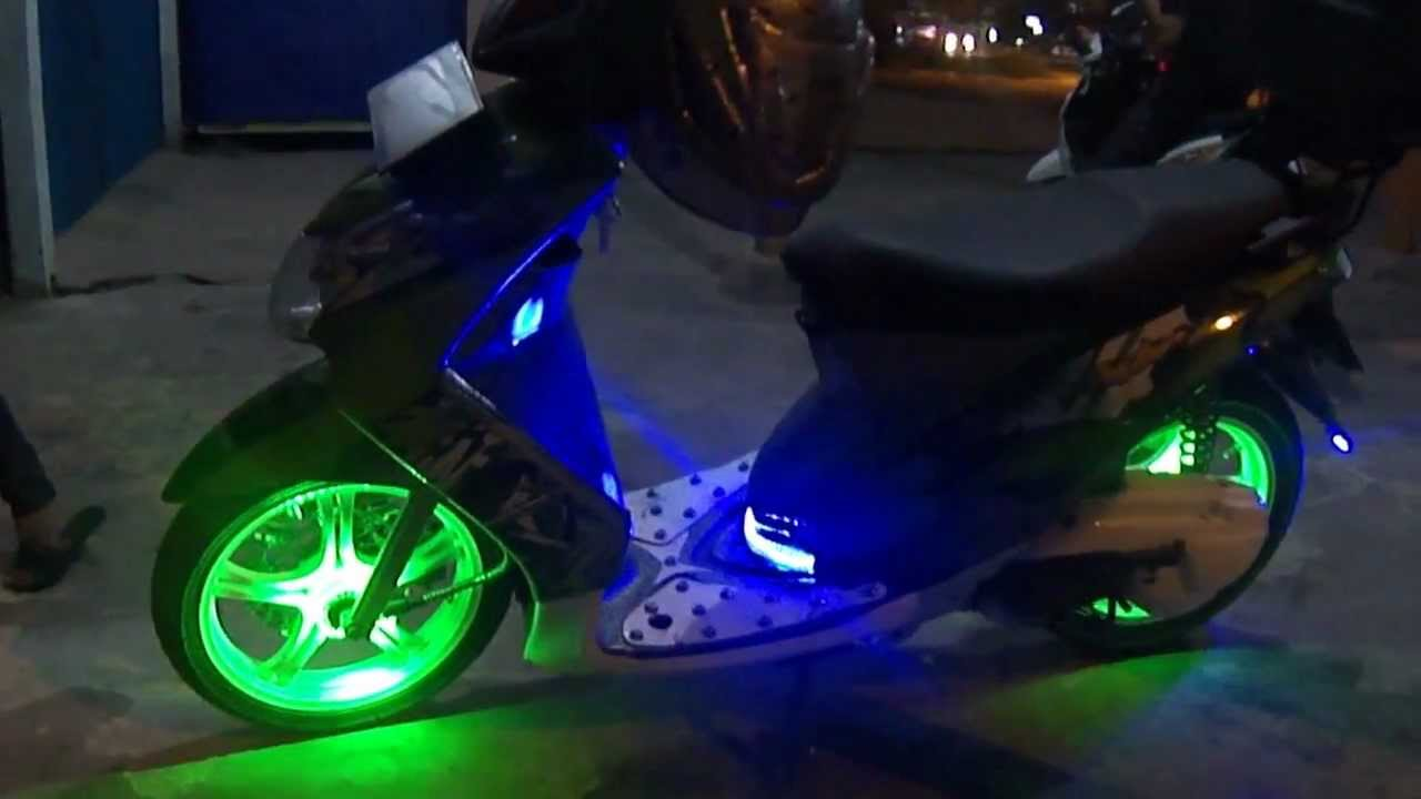 Angel eyes headlight for mio sporty-2205
