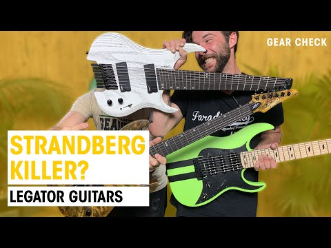 Are Legator Guitars Good?   Comparison With Ibanez, Strandberg, Jackson   Thomann