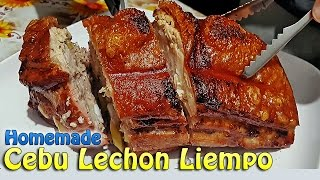 Homemade Cebu Lechon Crispy Roasted Pork Belly (w/ Eng Subtitles) | ChubbyChiniCatt