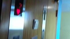 2x Nice Old 1955 KONE (mb KONE Delta 2004) Traction Elevators @ Yliopistonkatu 12B, Turku, Finland