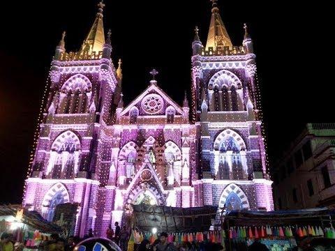Mount Marry | Christmas eve | Midnight mass.