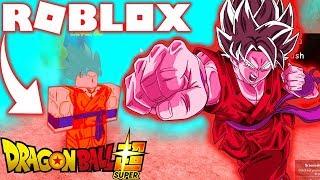 ROBLOX ! DRAGON BALL SUPER - GOKU SUPER SAIYAJIN BLUE KAIOKEN X10 ! Dragon Ball Rage Rebirth 2