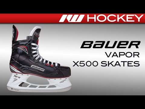 2017 Bauer Vapor X500 Skate Review