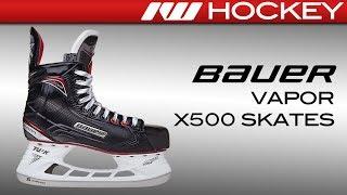 2017 Bauer Vapor X500 Skate Review
