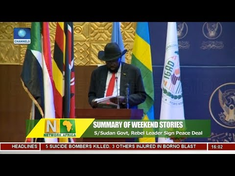 Analyst Opine As S Sudan Govt Rebel Leader Sign Peace Deal |Network Africa|