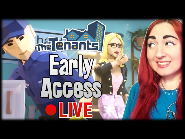 🏙The Tenants Part 8-  April Patch Update NEW ITEMS & JOBS // Early Access Gameplay