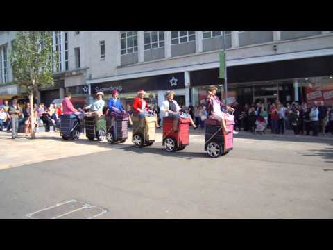 Granny Turismo In Sheffield The Moor Gangnam Style
