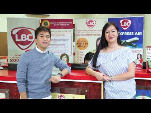 LBC Philippine Document Processing for OFWs
