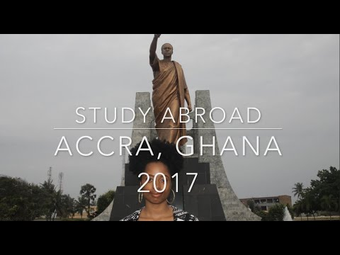 Accra,Ghana Travel Vlog| First Week Studying Abroad in Southern Ghana