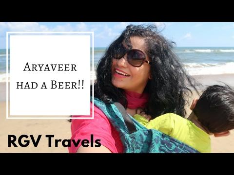 Aryaveer had a Beer!! | Chennai Holiday Vlog || RGV Travels