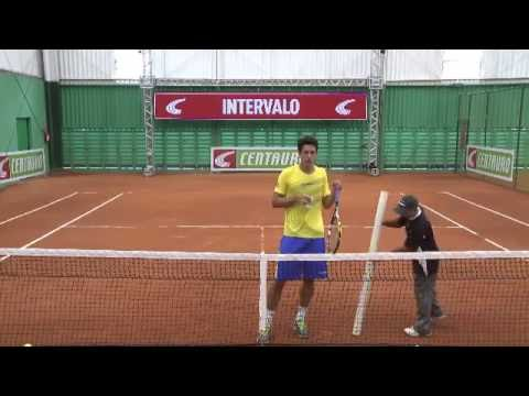 #TWITTÊNIS Centauro com tenista Marcelo Melo