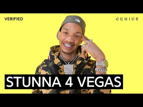 "Stunna 4 Vegas ""Up The Smoke"" Official Lyrics & Meaning 